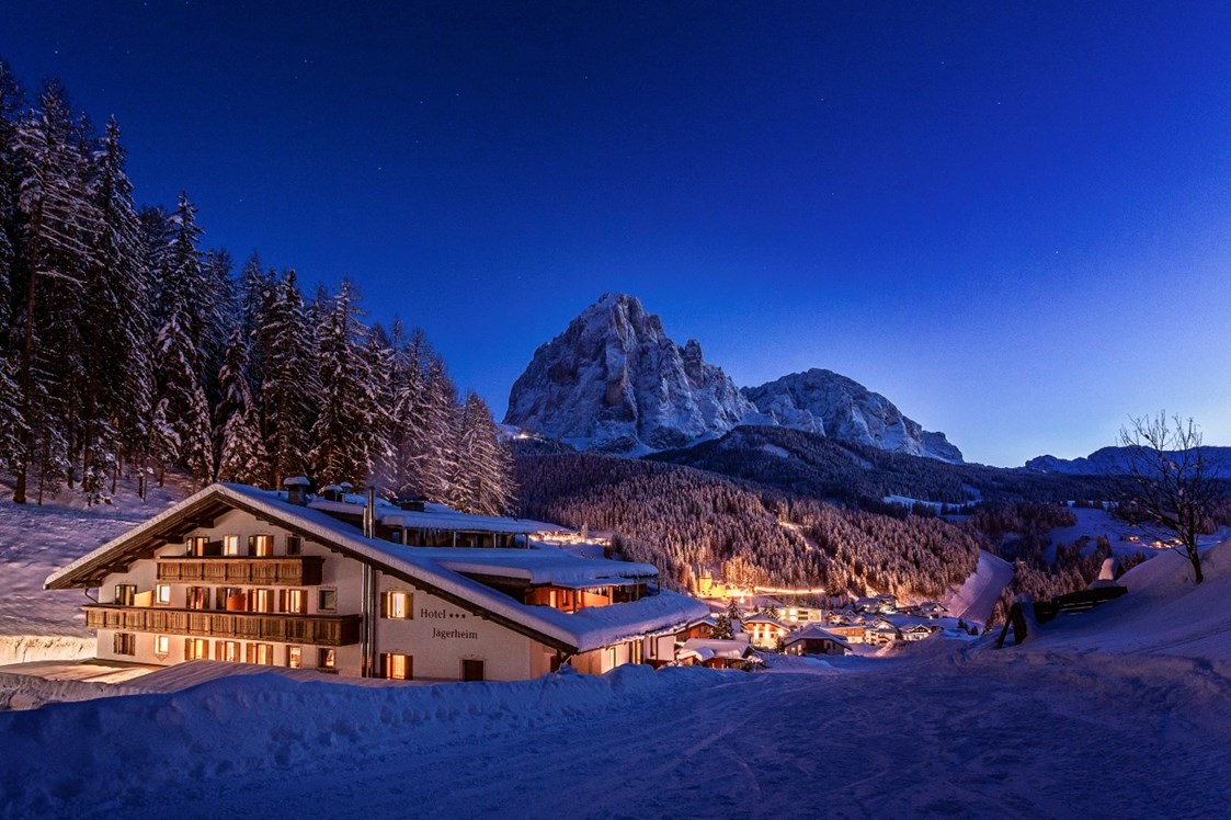 Skigebiet: By night - Hotel Jägerheim