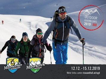 Mayrhofner Bergbahnen Events 12.12.-15.12.2019: Outdoor Guiding Days