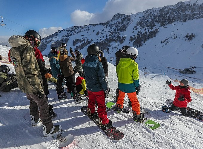 Mayrhofner Bergbahnen Events 06.01.2019: Groms Open