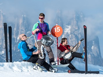 Skigebiet Seiser Alm Events Swing on Snow