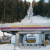 Skigebiet Ladurns Vorstellung Lifte Sessellift Ladurns I